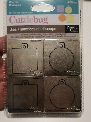 Cuttlebug Embossing cutting die plate charms
