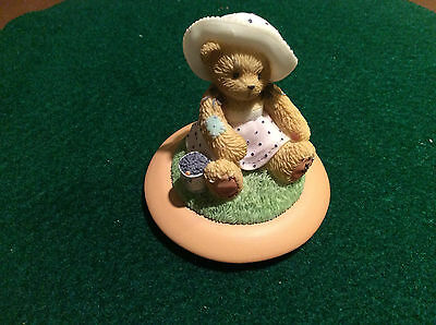 Cherished Teddies Candle Holder Topper - Replacement Part