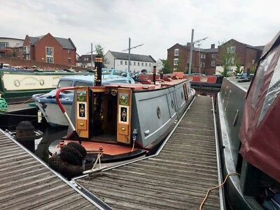 57ft Traditional Tug style narrowboat 'Old Poacher'