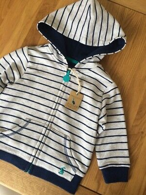 New Joules Baby Boys Gooded Jumper Size 9-12 Months