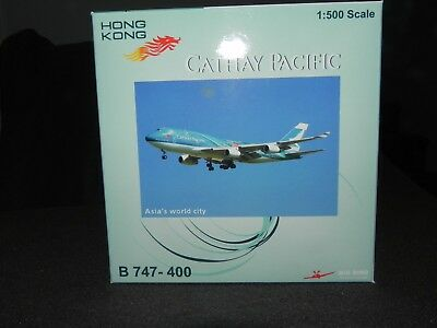 Cathay Pacific - Asia's World City Herpa 1:500