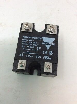 RA2450-D06S138 Solid State Relay, SPST-NO, 50 A, 280 VAC, Panel, Screw Zero Cros