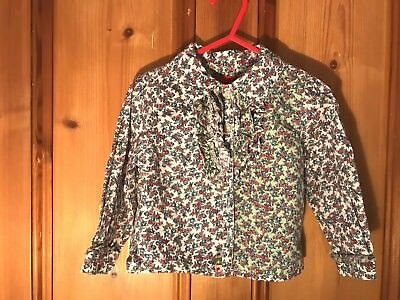 Oilily - Gorgeous, Unusual Girls Ditsy Cotton Blouse - Age 18 months to 2 yrs