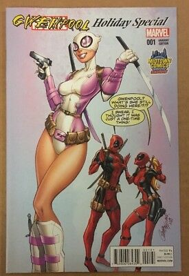Gwenpool Special #1 Midtown Comics Exclusive J Scott Campbell Variant Cover B