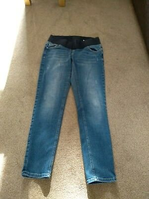 Next Relaxed Skinny Maternity Jeans Size 12R
