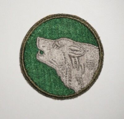 104th Infantry Division Patch WWII US Army P7758