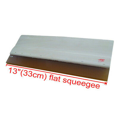 33CM 13 In Silk Screen Printing Wood Squeegee Ink Scraper 75 Durometer