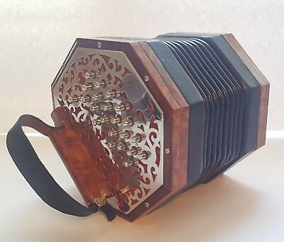 Koot Brits Ab/Eb 40 Button anglo concertina.