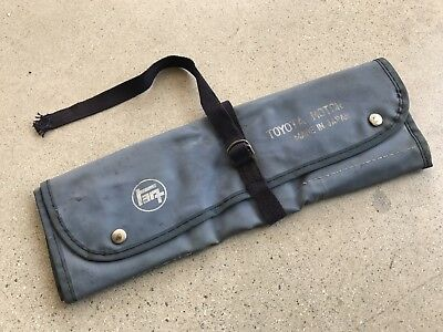 Genuine Vintage Toyota Japan Tool Roll