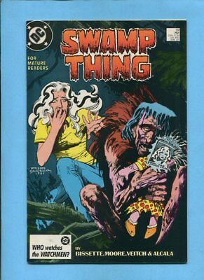 Swamp Thing #59 Patchwork Man DC Comics April 1987 Alan Moore Veitch Alcala