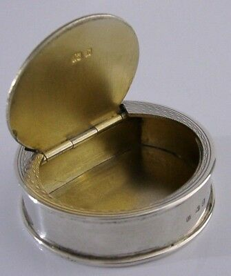 Rare Trick Opening Solid Silver Snuff Box English Antique 1901 Superb