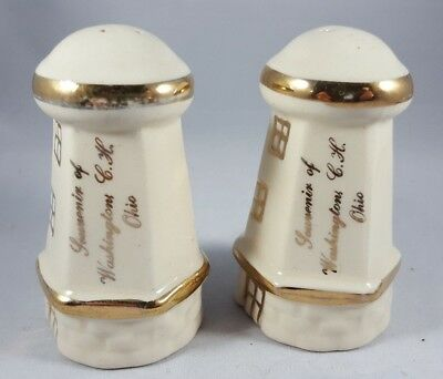 Souvenir Salt and Pepper Shakers from Washington Court House, Ohio