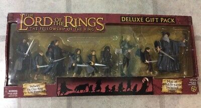 The Lord of the Rings Fellowship of the Ring Deluxe Gift Pack Toy Biz 2003
