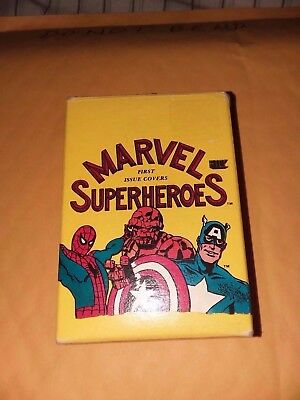 Marvel Superheroes First Issue Covers 1984 Ftcc Factory Base Card Set 60 In Box