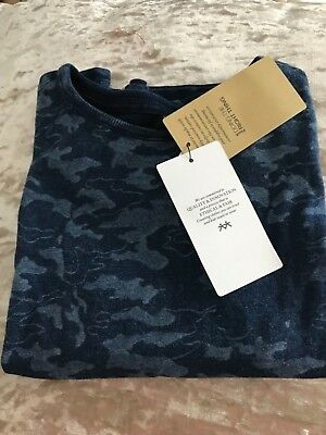 Marks & Spencer Navy T-Shirt. Age 5-6 Years Brand New With Tags. Boys Or Girls