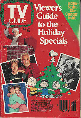 1989 TV Guide Viewers Guide to the Holiday Specials Dec 2-8 NO LABEL