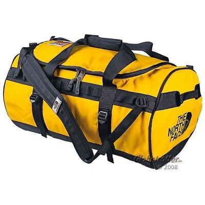 THE NORTH FACE Base Camp Duffel L /G,95 ltr, gelb, Reisetasche Rucksack Bag NEU