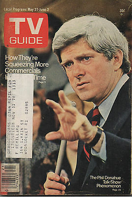 1978 TV Guide The Phil Donahue Talk-Show Phenomenon May 27-June 2