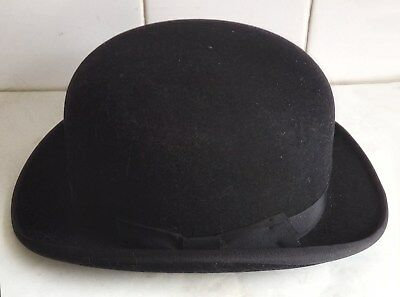 AN AUSTIN REED BOWLER HAT - SIZE 7 (large) - IMMACULATE CONDITION