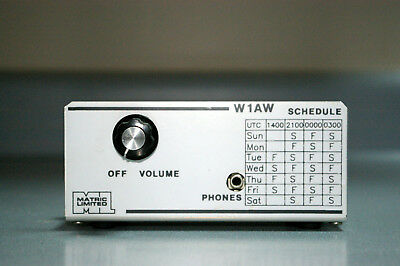 W1AW 20 meter Code Practice Receiver