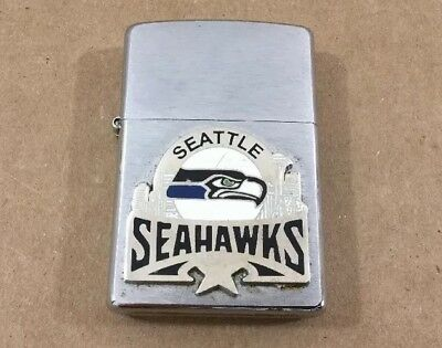 Vintage 2004 Seattle Seahawks Zippo Lighter Barely Used