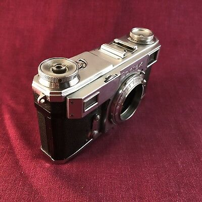 Zeiss Ikon Contax iia Camera Body owned by MATT HERRON. Used condition