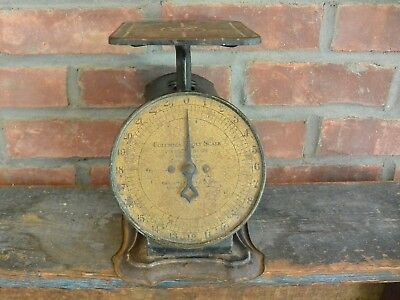 Antique Columbia Family Scale; 24 Pounds by Ounces; Working Condition