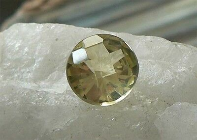 RUND Checkerboard  Citrin / Prasiolith 2,81 ct