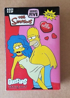 Marge And Homer Bust-Up Simpsons Valentine