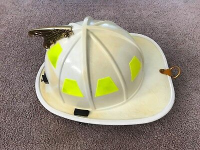 HONEYWELL MORNING PRIDE FIREFIGHTER FIRE HELMET  - White - HDOBL00HW - 2013