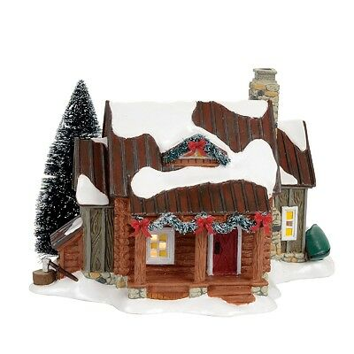 "Dept 56 Snow Village ""WOODSY RETREAT"" NIB 2017 FREE SHIPPING"