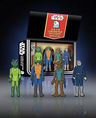 "SDCC 2018 Star Wars Gentle Giant Cantina Adventure 1.75"" Enamel Pin Set Limited"
