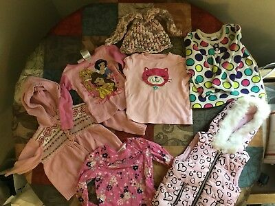 7 Piece Lot Of Misc 24 Month Girls Clothes