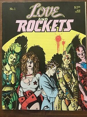 Love and Rockets #1, 1st Printing - Hernandez Brothers (1982) VG/VF
