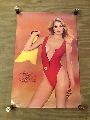 "Vintage 1983 Starmakers #2152 Heather Thomas Pin Up Girl Poster (21"" x 32"")"