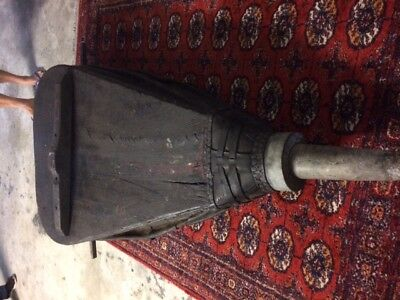very large antique industrial bellows