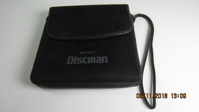 Original Sony D 25 Portable Discman CD Player Case Sleeve Pouch with Strap