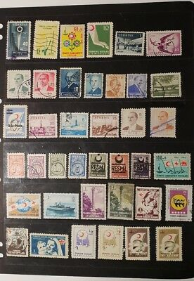 stamps  Turkey - MH and  used - Lot 731