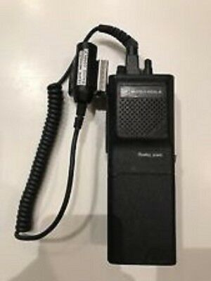 Original Conrail Walkie Talkie With Collar Microphone