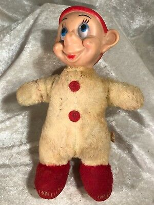 Vintage Walt Disney Snow White Dwarf Doll