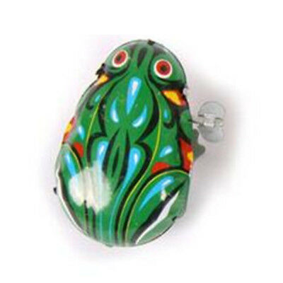 Kids Wind Up Toys Classic Jecksion Collectible Clockwork New Iron Jumping Frog