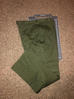 Vintage Boy Scouts of America BSA Green Uniform Pants NOS NWT New Size 42 Waist
