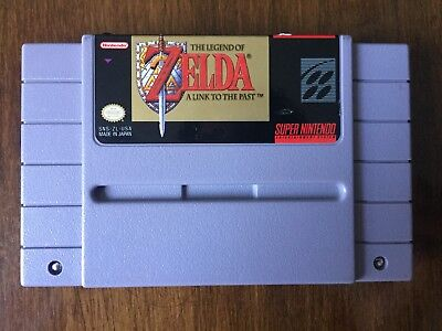Legend of Zelda: A Link to the Past - SNES Super Nintendo - Tested, Authentic