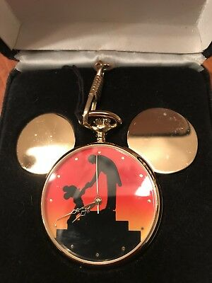 1994 Disneyana Mickey Mouse Pocket Watch - Ltd Ed - Disney