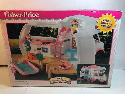 Fisher Price Loving Family (Family Vacation Camper ) Brand NEW Vintage 1998