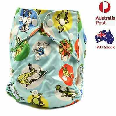 Animals Baby Boy Modern Cloth Nappy Babies And Toddlers Cloth Nappies (D230)