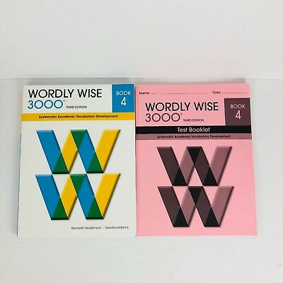 New wordly wise 3000 grade 5 set studentanswer key 3rd edition wordly wise 3000 book 4 3rd edition student book test booklet and answer key fandeluxe Images