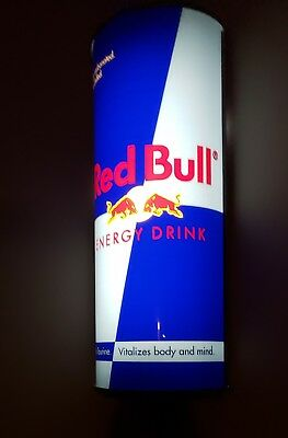 RED BULL Energy Drink Wall Light Up Advertising Sign Display