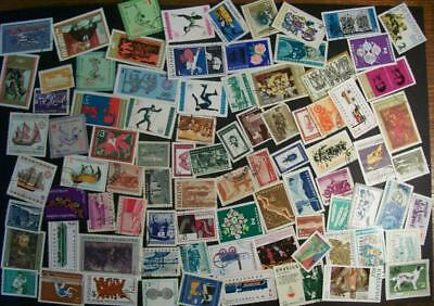 Bulgaria - 173 different stamps, nice colourful collection (AJ)
