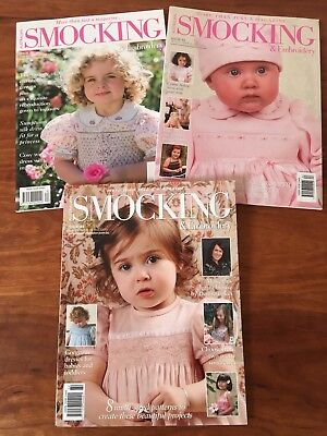 Australian Smocking and Embroidery Magazines Issues #82 - #84